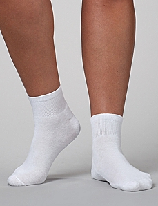 2-Pack Athletic Ankle Socks by CATHERINES
