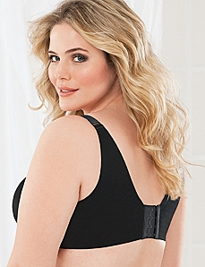 Serenada® No-Wire Back-Smoother Bra