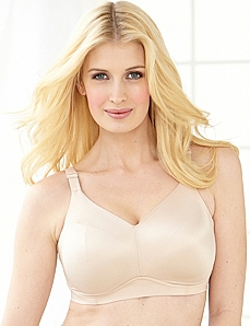 No-Wire Back-Smoother Bra