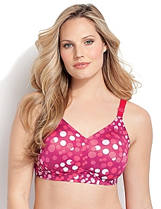 Serenada® Back-Smoother No-Wire Bra