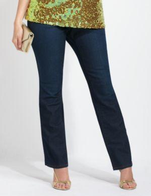 Slimmer Synergy Straight Leg Jean