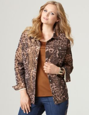 Untamed Roll-Sleeve Jacket