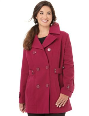 Must-Have Statement Peacoat