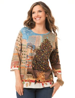 Christmas in New York Top