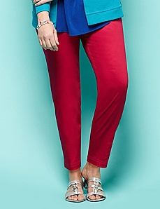Ankle Zip Pant by CATHERINES