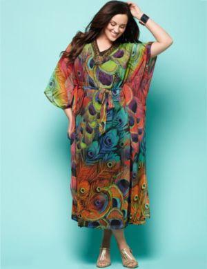 Vivid Feather Dress
