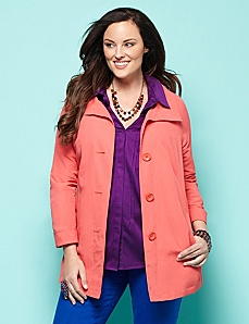 A-Line Jacket by CATHERINES