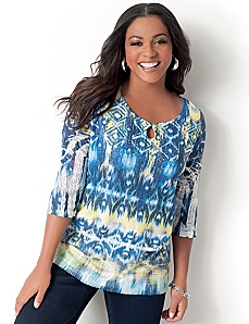 Cali Peasant Top by CATHERINES