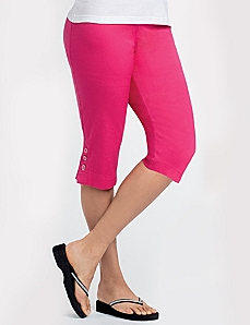 Enamel Button Capri