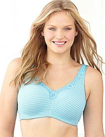 Serenada® No-Wire Color Cotton Comfort Bra