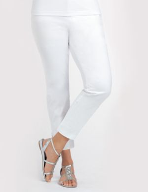 Cotton Sateen Capri