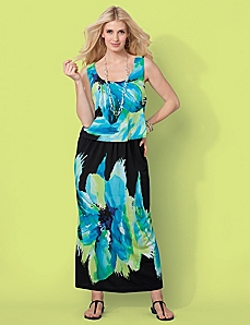 Midnight Garden Maxi