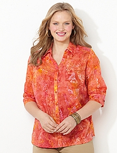 Hawaiian Sunset Shirt by CATHERINES