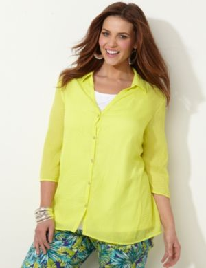 Textured Touch Blouse
