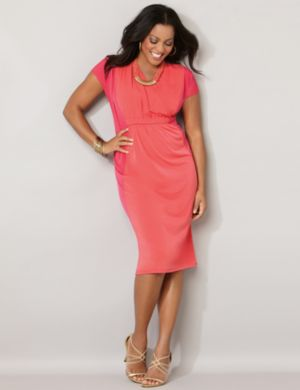 Streamlined Colorblock Dress
