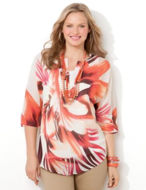 Wild Orchid Blouse