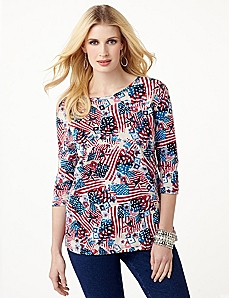 Star Spangled Top by CATHERINES