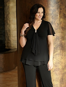 Everlasting Top & Pant by CATHERINES