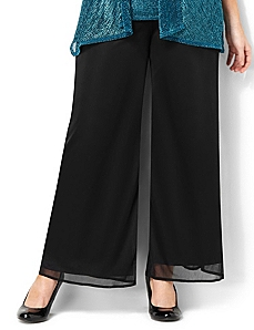 Chiffon Tied Pant by CATHERINES