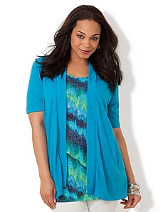Seascape Cardigan by CATHERINES