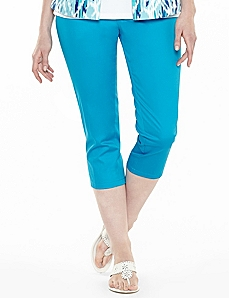 Sateen Starlight Capri by CATHERINES