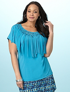 Frill Seeker Top by CATHERINES