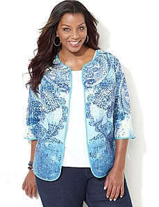Paisley Reversible Jacket by CATHERINES