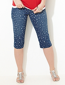 Star Denim Capri