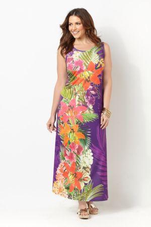 Honolulu Blossom Maxi