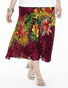 Hawaiian Essence Skirt by CATHERINES