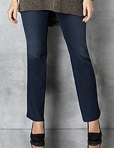 Slimmer Synergy Modern Bootcut Jean by Catherines