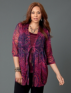 Tapestry Layered Top