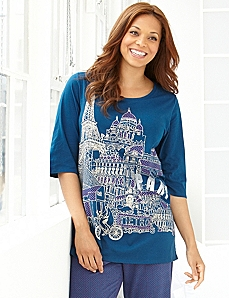 Paris Amore Sleep Tunic