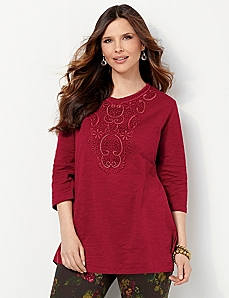 Arabesque Tunic by CATHERINES