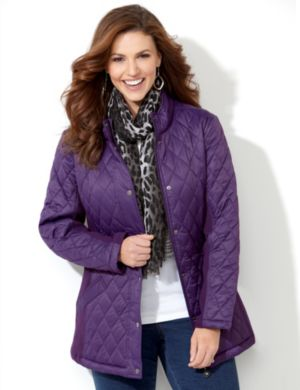 East Side Quilted Coat