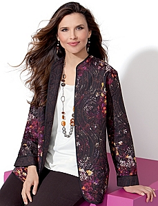 Duetto Reversible Jacket by Catherines