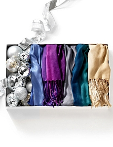 Festive Ombre Scarf by CATHERINES