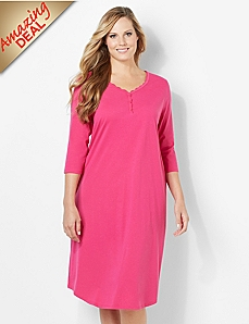 Soft Lace Sleep Gown
