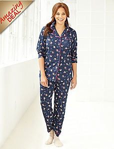 Holiday Mix Pajama Set