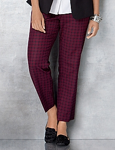 Tile Print Pant by CATHERINES