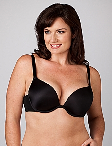 Underwire Plunge Bra by CATHERINES