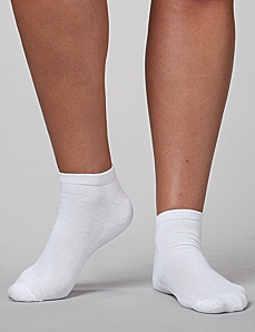 2-Pack Athletic Low-Cut Socks by CATHERINES