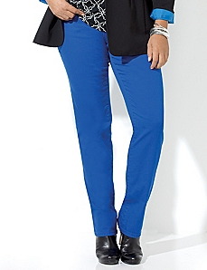 Downtown Fit Color Jean by CATHERINES
