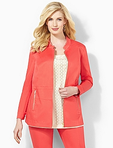 Charisma Zip Jacket by CATHERINES