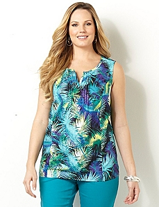 Paradise Blend Tank by CATHERINES