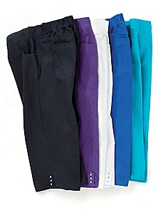 Timeless Fit Color Capri