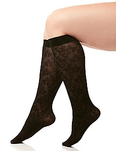 Scroll Lace Trouser Socks