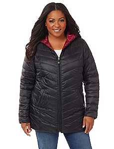 Stratton Packable Reversible Jacket