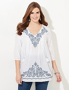 Free Spirit Peasant Top