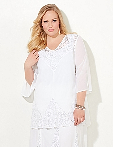 Black Label Whisper Lace Top
